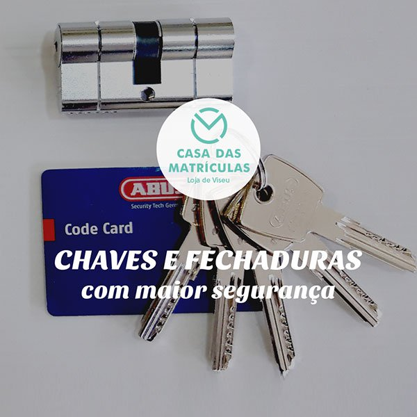 CHAVES E FECHADURAS