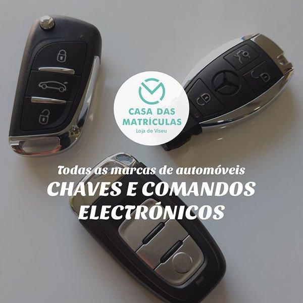 VENDA E REPARAÇÃO DE COMANDOS AUTOMÓVEL